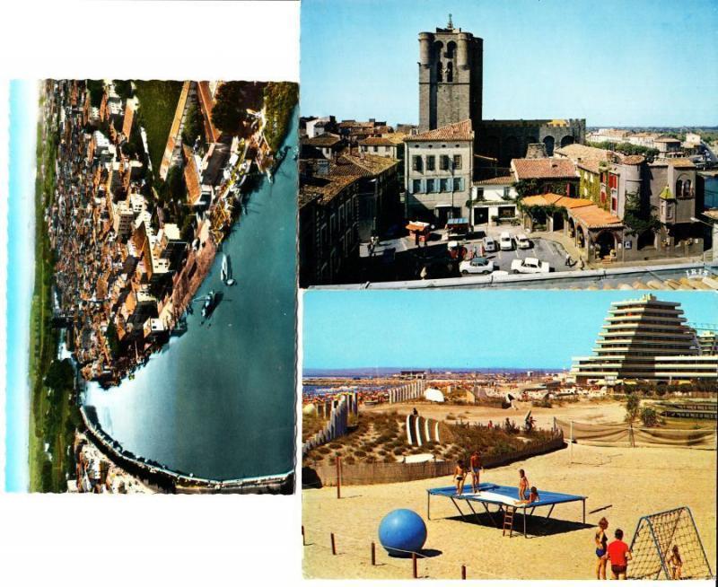 HÉRAULT Languedoc-Roussillon (Dep 34) 298 Cartes Postales 1900-1940