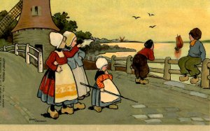 Dutch Children - Bon Voyage       Artist: Ethel Parkinson