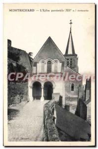Postcard Montrichard Old Parish Church
