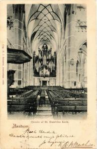 CPA ARNHEM Groote of St. Eusebius Kerk NETHERLANDS (604666)