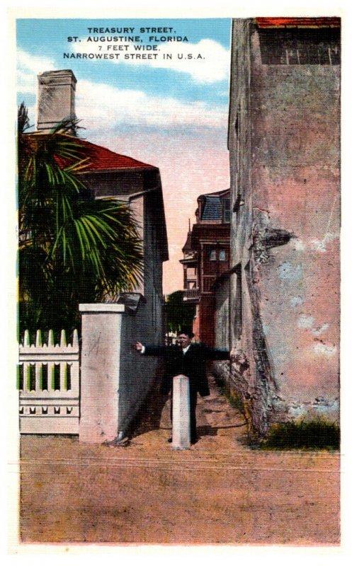 Florida  St. Augustine   Treasure Street
