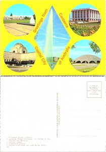 Greetings from Canberra, Capital City of Australia, Multi-Views