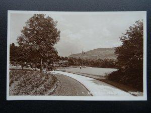 Lancashire RAWTENSTALL Whitaker Park BOWLING GREEN - Old RP Postcard