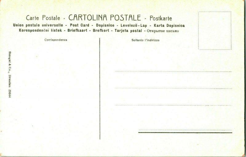 Florence -la Vergine - Col. S Enfant - Boticelli- Par Stengel & Co No.29844