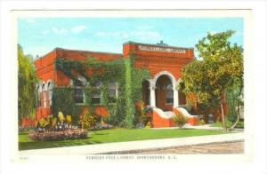 Kennedy Free Library , Spartanburg , South Carolina, PU-1927