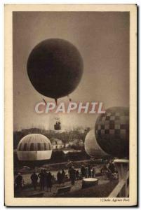Old Postcard Jet Aviation lacher A free balloons Saint Cloud