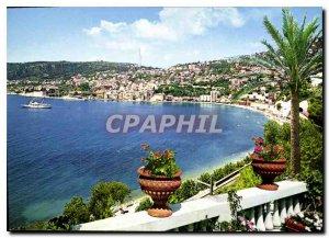 Modern Postcard Villefranche sur mer Vue generale