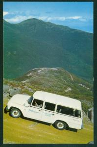 International Harvester Travelall Early SUV Full Size Truck Auto Road Postcard
