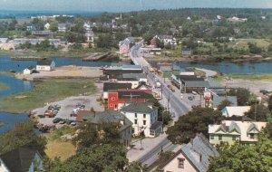 WEYMOUTH, Nova Scotia, Canada, PU-1985; Aerial View
