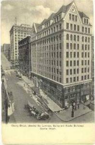 Showing Lowman,Bailey & Alaska Bldg.,Seattle,WA,1900-10