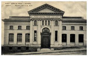 10423  NY Port  Jervis   Free Library