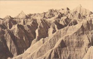 Southeast View Of The Pinnacles Pass Badlands Nat Monument South Dakota Alber...