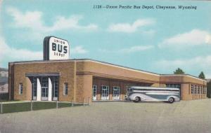 Union Pacific Bus Depot, Cheyenne, Wyoming, 30-40s