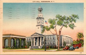 New York Ogdensburg City Hall 1947