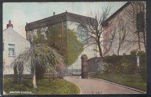 Cumbria Postcard - Dalton Castle    T9541