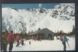 America Postcard - Spring Skiing in The White Mountains of New Hampshire RS20676