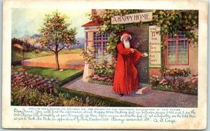 Vintage 1906 Chicago Advertising Postcard Geo. E. Schmidt IT Skin Care Unused
