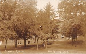 D23/ New Concord Ohio Postcard Real Photo RPPC 1911 Muskingum College 3