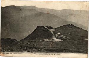 CPA Vue prise du sommet du PUY-de-DOME (220525)