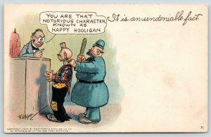 F Opper~It is an Undeniable Fact: Judge Identifies Notorious Happy Hooligan~Cop