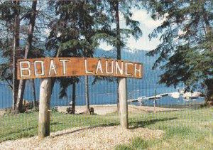 Port Alice Boat Launch British Columbia Canada