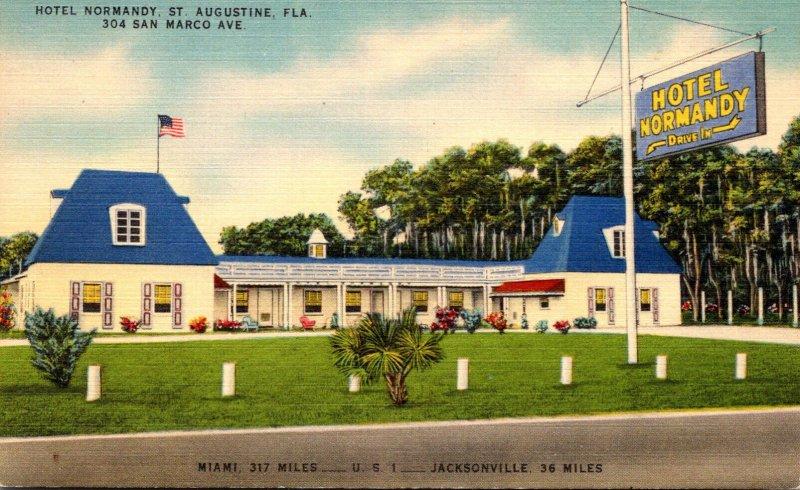 Florida St Augusteine Hotel Normandy San Marco Boulevard