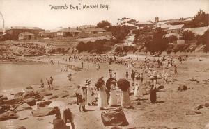 South Africa Munro's Bay Mossel Bay Sunbathe, Fancy Ladies, Umbrellas