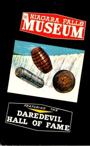 Canada Niagara Falls Museum At Rainbow Bridge Featuring Daredevil Hall Of Faa...