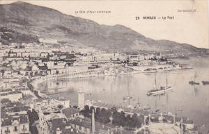 Aerial View, Port, Sail Boats, Ship, MONTE-CARLO, Monaco, 00-10's