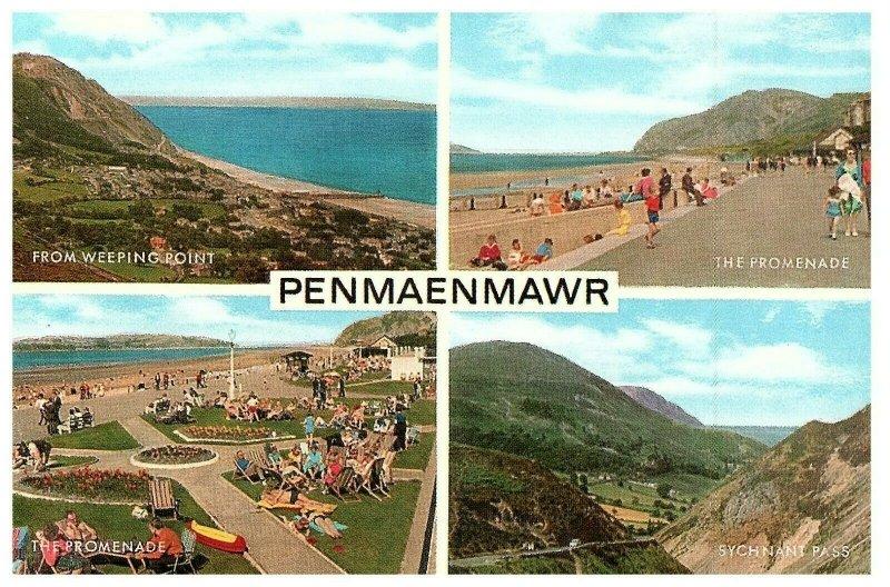 PENMAENMAWR CONWY WALES CARD