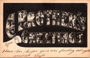 A Brother's Greetings Ezra 1907