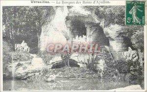Postcard Old Versailles Grove of Apollo's Baths