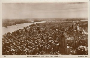 RP: NEW YORK CITY, 1930-40s ; South-Eastern view, Empire State Observatory