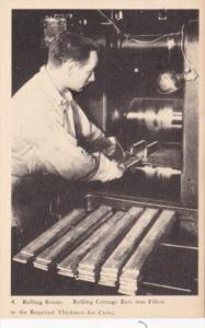 Canada Ontario Ottawa Rolling Room Rolling Coinage Bars Into Fillets To Requi...