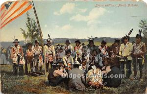 Sioux Indians North Dakota, ND, USA Indian Unused a lot of corner and edge wear