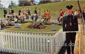 Arlington, VA, USA Postcard Grave of John F Kennedy