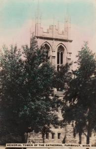 RP; Memorial Tower of the Cathedral , FARIBAULT, Minnesota, 1920s