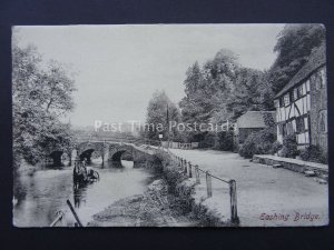 Surrey EASHING BRIDGE & what looks like the Ford - Old Postcard by Frith