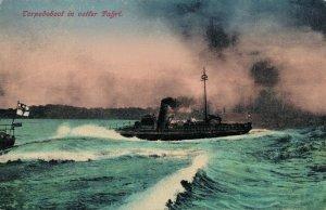 Nautica Torpedoboot in voller Fahrt Battle Ship 03.86