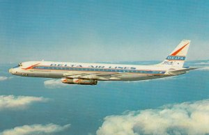 DELTA DC-8, First real jets to connect New York, 1960-70s