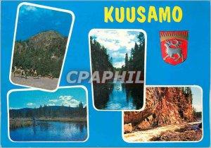 Postcard Modern Kuusamo