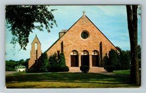 Rye NH- New Hampshire, Saint Theresa Church, Religion, Chrome c1960 Postcard