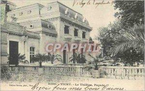 Postcard Old Vichy Theater Facade