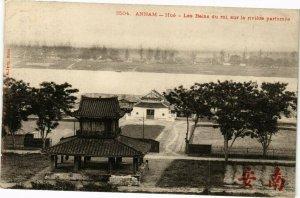 VIETNAM INDOCHINE - Annam - Hué-Les Bains du roi sur la riviére (190229)