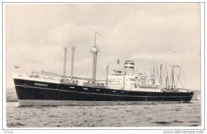 Ocean Liner Holland American Line  SS Schiedyk , 00-10s