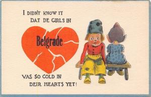 Didn't Know De Girls in Belgrade~Vas So Cold in Heart~Dutch Boy Broken~1912 PC