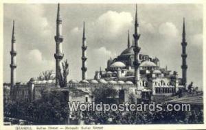 Sultan Ahmet  Istanbul, Turkey Postcard Post Card, Kart Postal, Carte Postale...