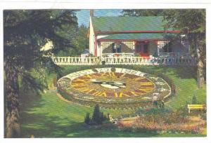 Centennial Floral Clock, Riverside Park, Guelph, Ontario, Canada, 1940-1960s