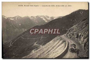 Old Postcard Laces of neck & # 39Allos
