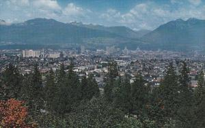 Vancouver as Seen From Little Mountain, VANCOUVER, British Columbia, Canada, ...
